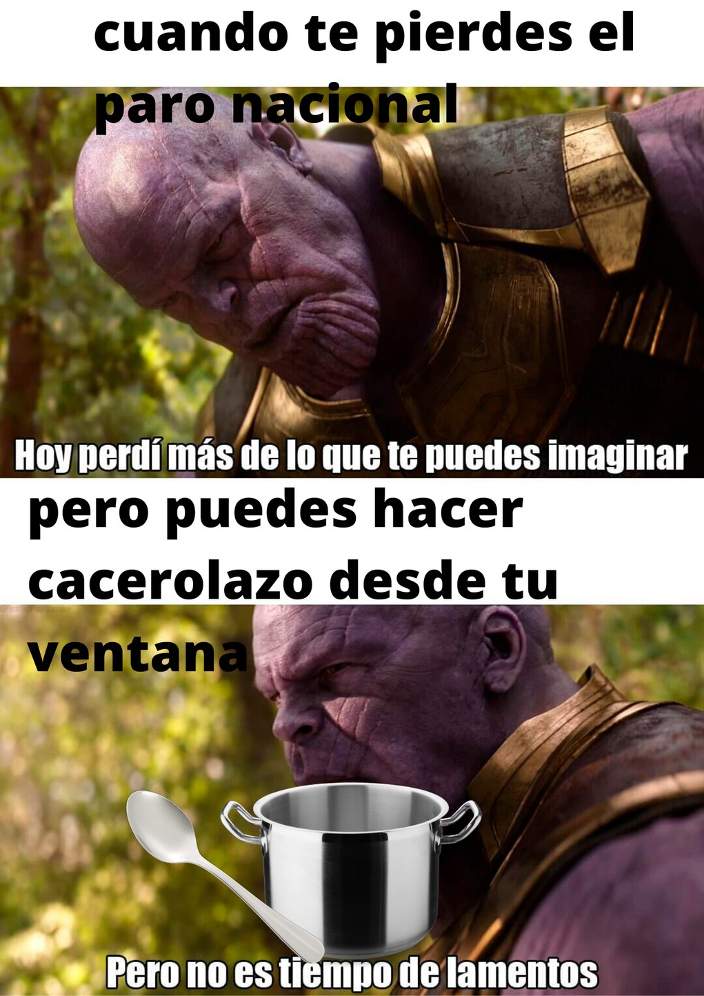 cacerolazo epico - meme