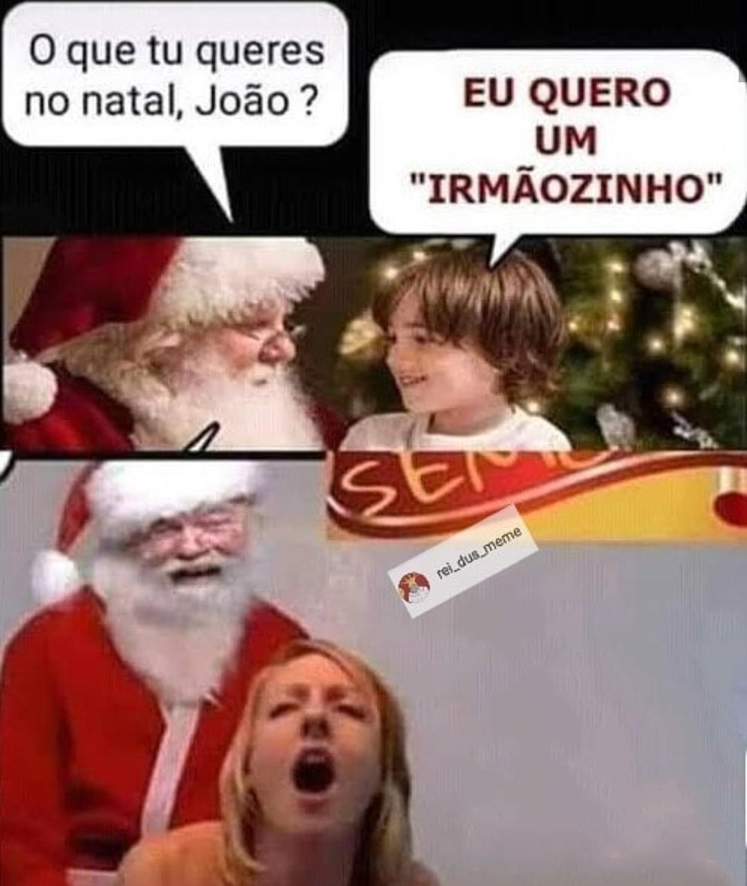 Papai Noel - meme