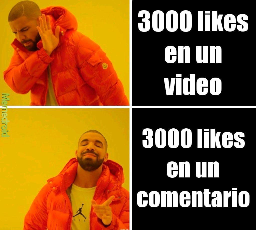 Likes - meme
