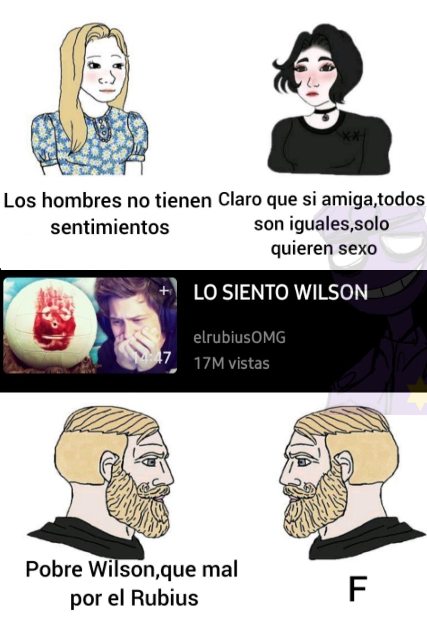 Pobre Wilson :( - meme