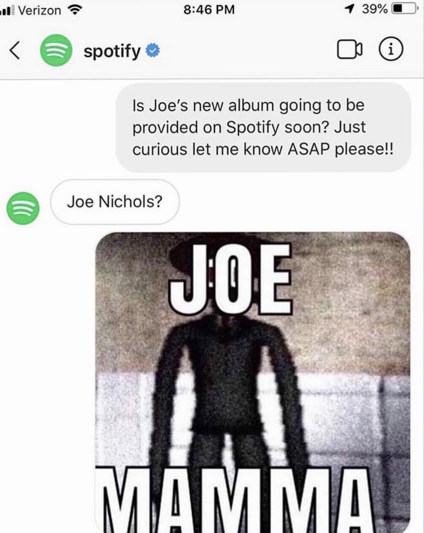 JOE MAMA - meme