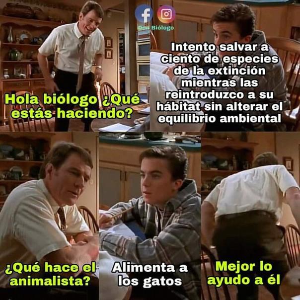 La biología es la mejor - meme