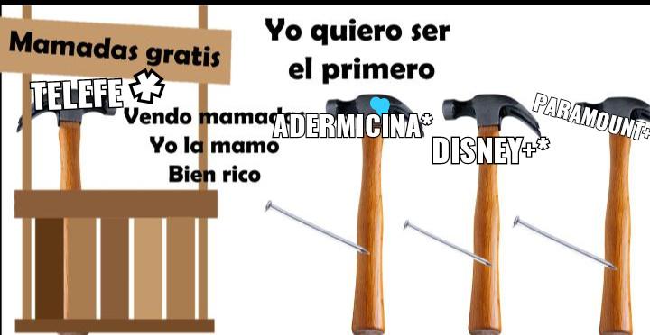 Contexto:telefe es un canal de argentina que se la chupo tan fuerte a estas cosas y esa cremita adermicina fue la primer cosa - meme