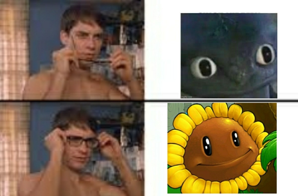 I realized this playing plants vs zombies - meme