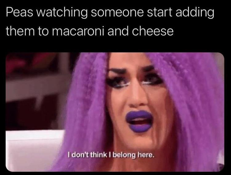 Mac & Cheese is like the Sith- always 2, no more, no less. - meme