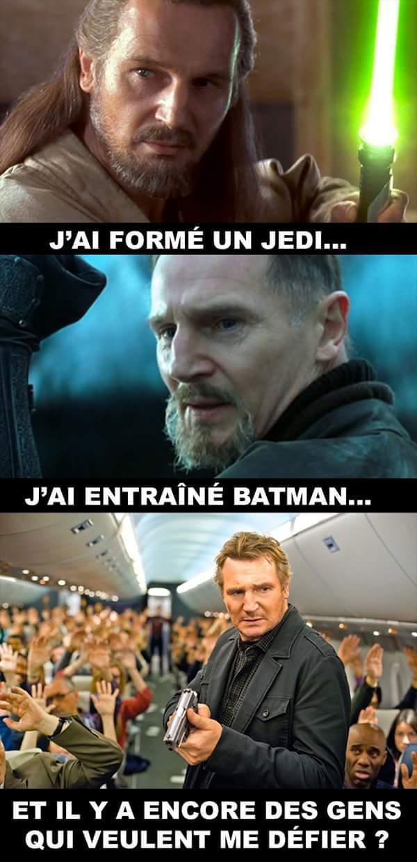 Respect the jedi master of bat-man - meme