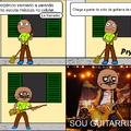 O Guitarrista chegou