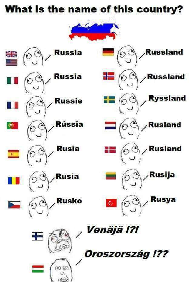 Finnish language :D - meme