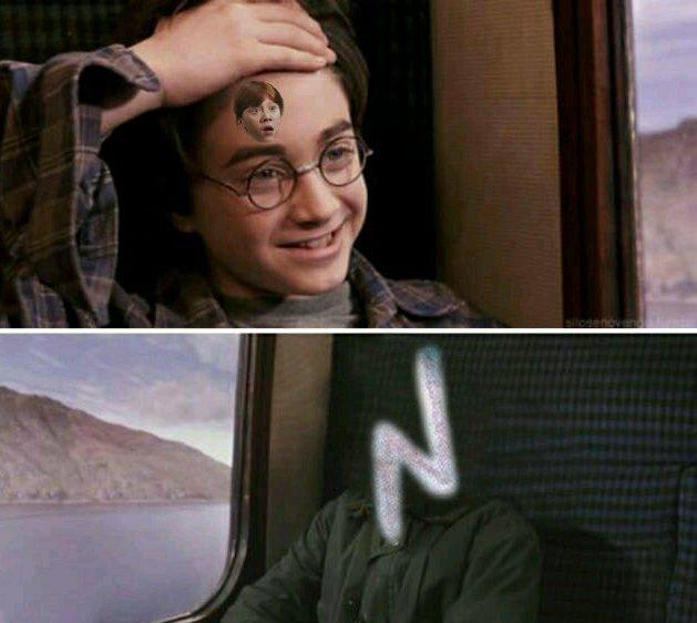 Harry roneer - meme