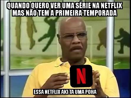 Netflix poha - meme