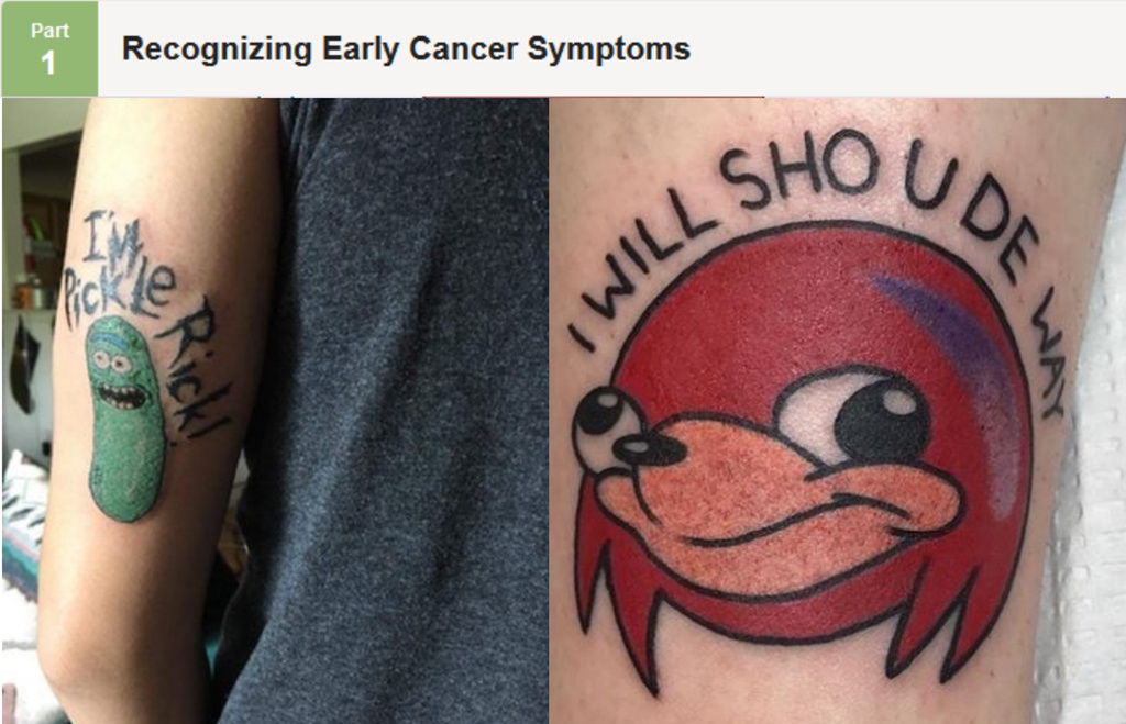 Dank tattoos - meme