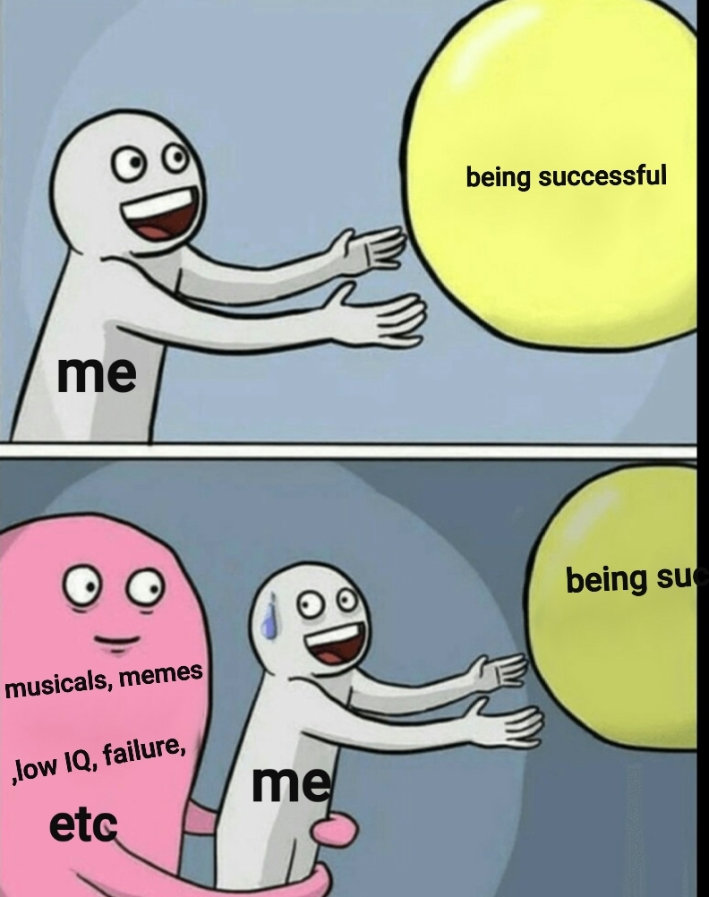 it be like that tho - meme