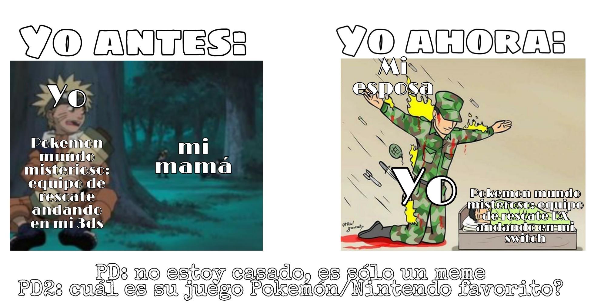 Me inspiré por una canción sobre pokemon mundo misterioso :) - meme