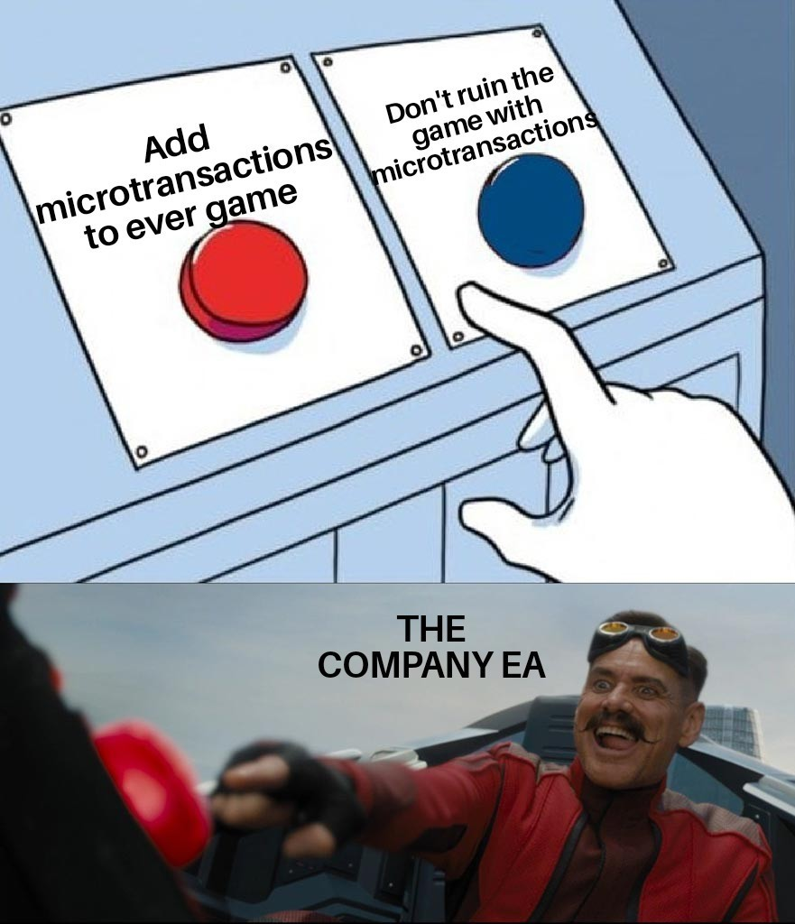 Insert your favorite game that was ruined here* - meme