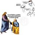 Pedro foi o primeiro papa, pode chorar