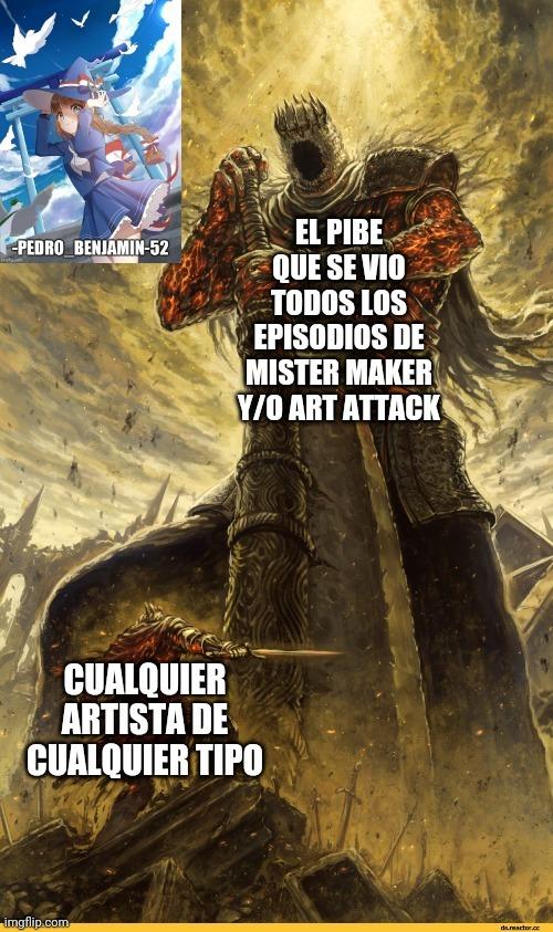 Mister maker y art attack - meme