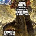 Mister maker y art attack