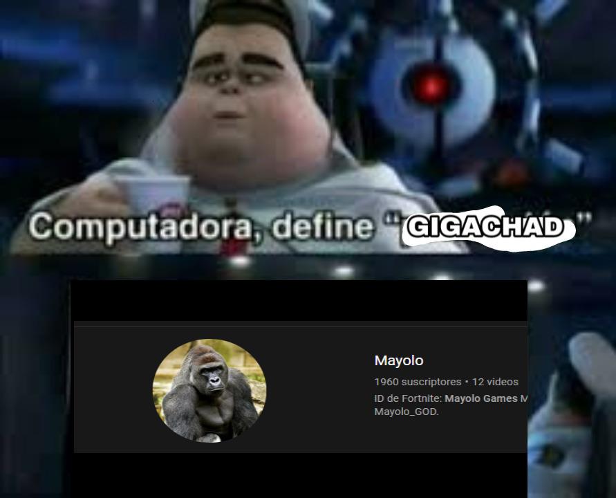mayolo god :chad: - meme