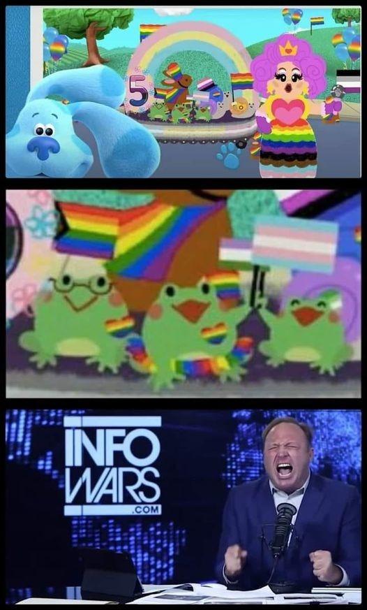 Turn the Freakin Frogs Gay - meme