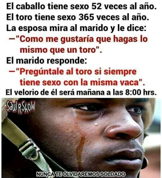 Lloren por un soldado caido :( - meme