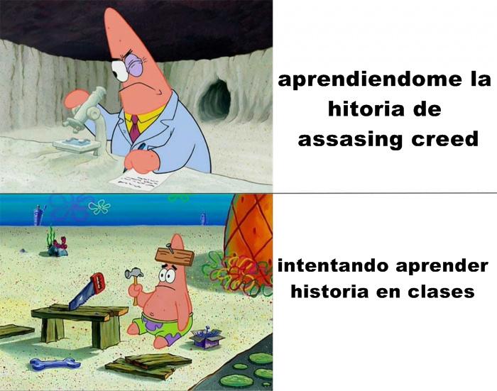 Apreder Historia - meme