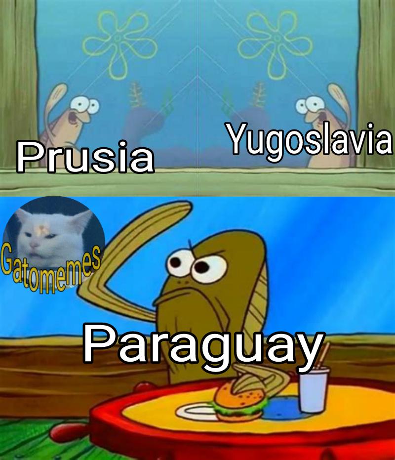 El chiste es que ya no existen esos paises - meme