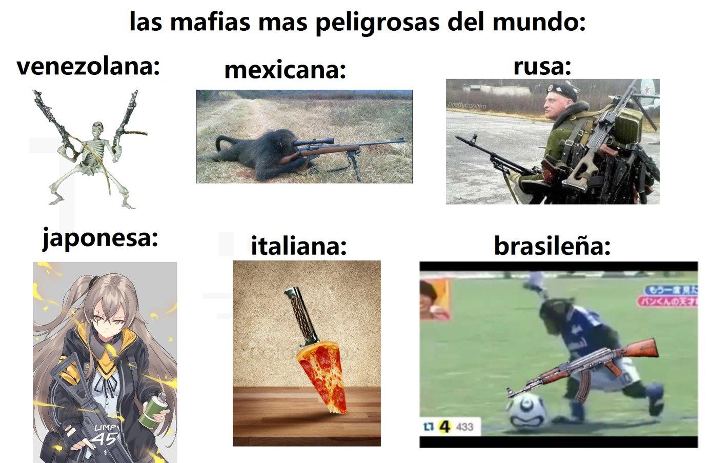 solo faltaba la colombiana - meme
