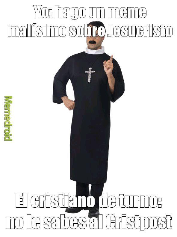 No le se al Cristpost - meme