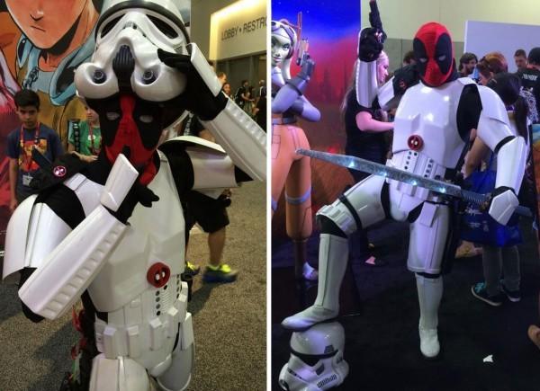 Deadpool + storm trooper - meme