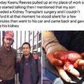 Keanu Reeves gave me his kidney