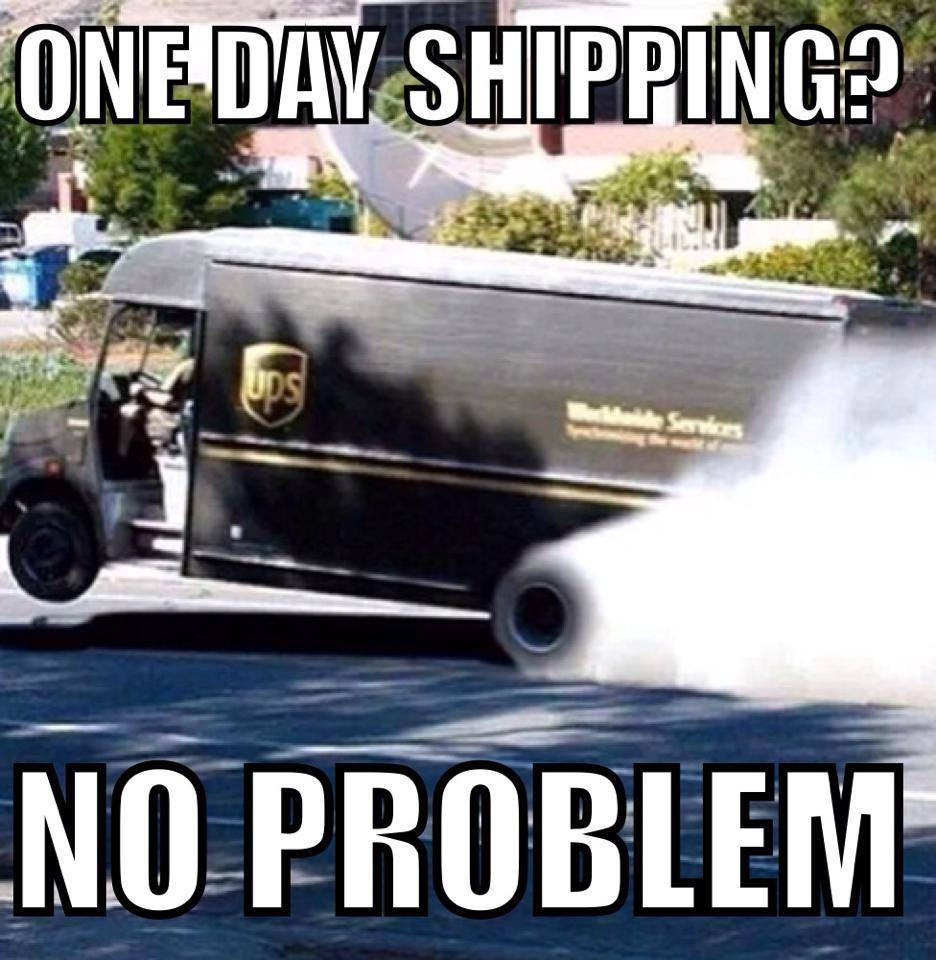 Express shipping - meme