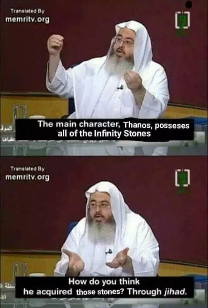 Technically, he's correct - meme