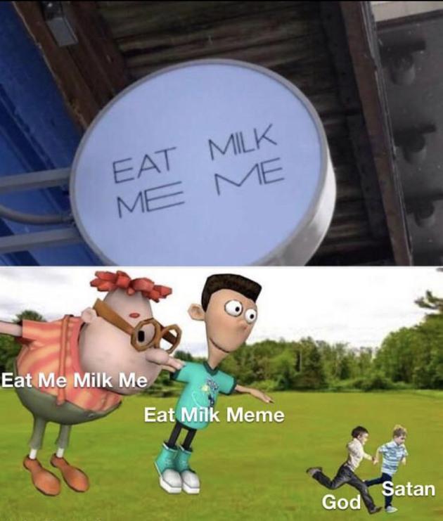 Eat milk MEME
