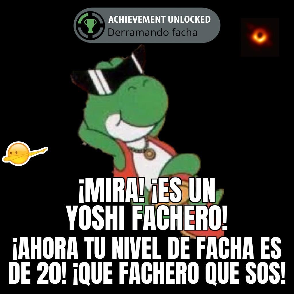 Yoshi facha Yoshi facha - meme