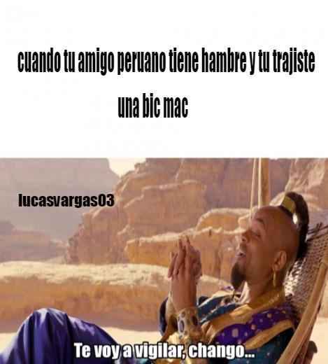 yo soy peruano - meme