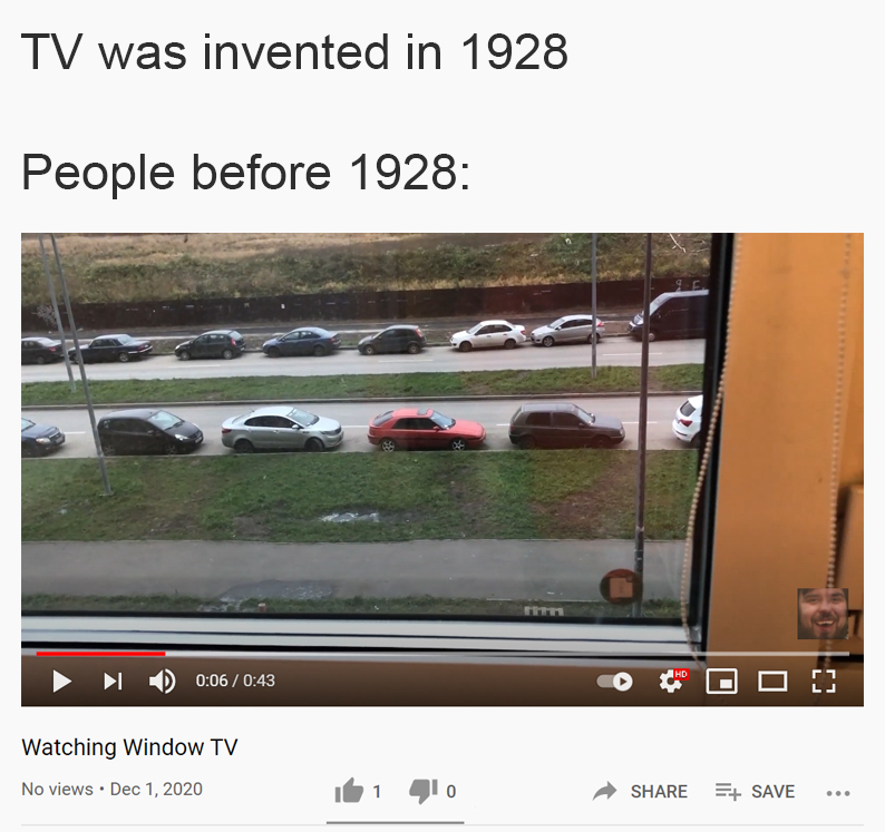 People before 1928 - meme