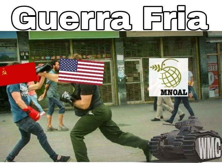 Guerra Fria - meme