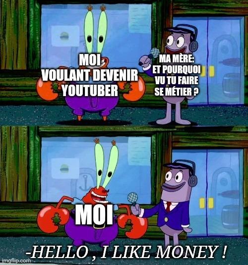J'adore l'argent ! - meme