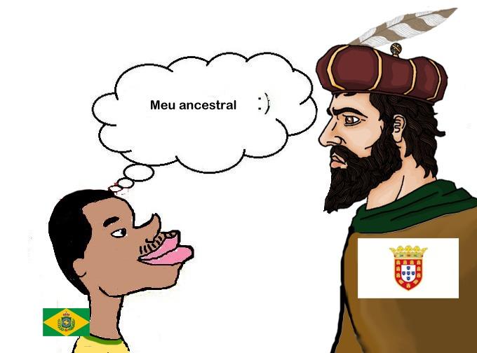 solo el 4% de los brasileños se consideran latinos ,el resto se considera brasileño - meme