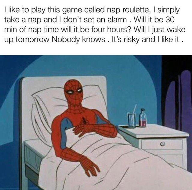 Nap roulette - meme