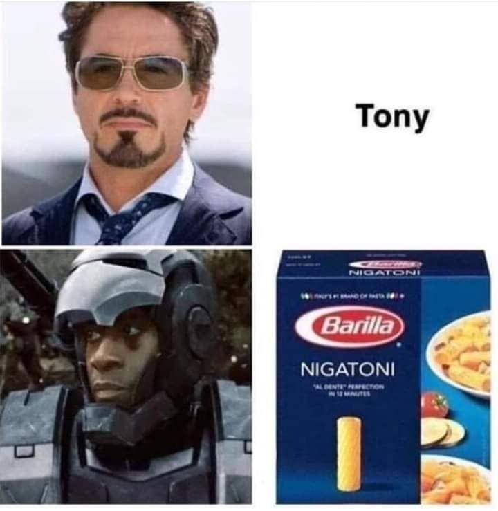 Iron man buddy - meme