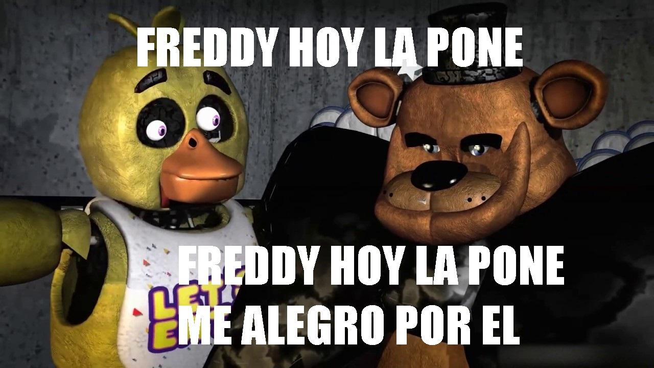 FREDDY LA PONE MAS QUE VOS - meme