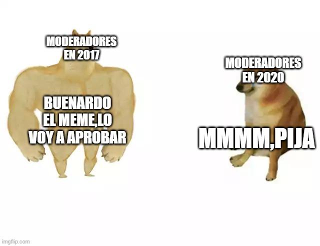 estos moderadores - meme