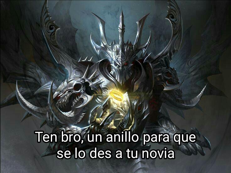 De parte de Sauron - meme