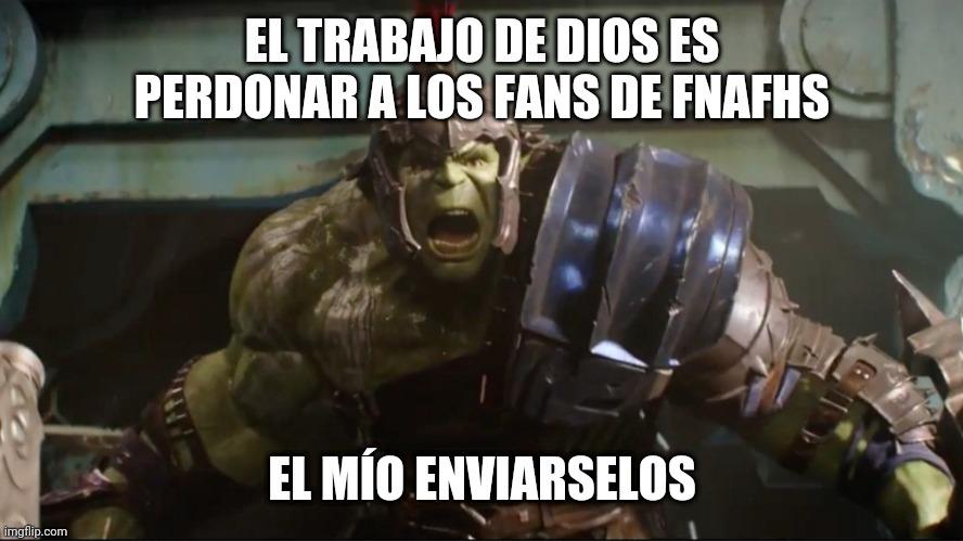 Un kpo el Hulk - meme