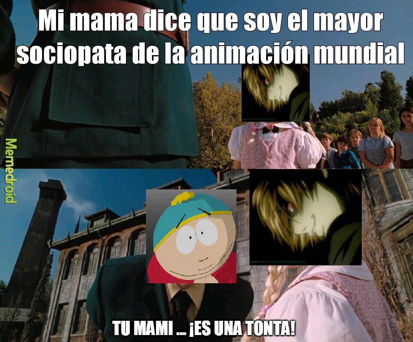 Light Yagami vs Eric Cartman - meme