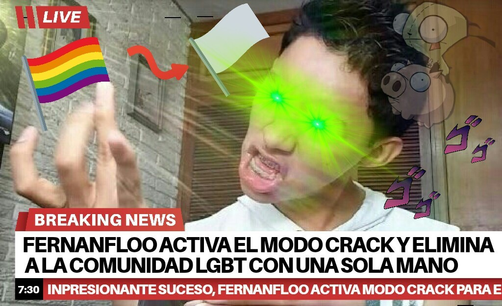 Grande Fernan el Crack - meme