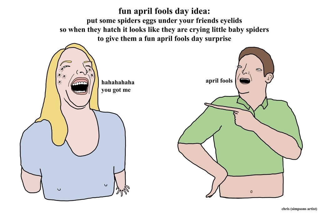 Happy April Fools - meme