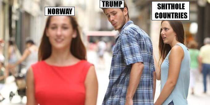 Hey Norwegian woman are amazing - meme