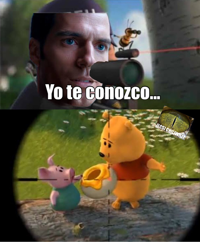 Yo te conozco, bee movie - meme